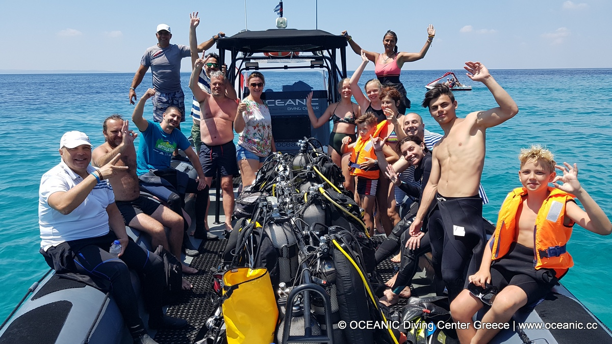 Oceanic Diving Center Nikiti | Boat Diving Halkidiki | DPV rental Nikiti | Scuba Diving Center Nikiti | Dive Shop | Scuba Diving Nikiti